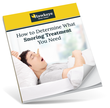 Snoring Treatment - FREE Guide | Hawkeye Sleep Center